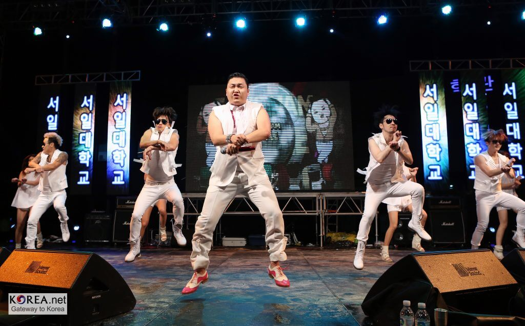 PSY 'Gangnam Style' at Seoil College, Seoul