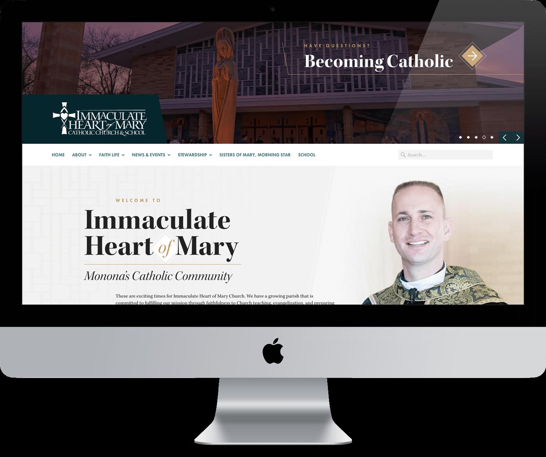 IHM Website Design